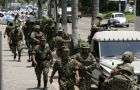 Some of the 50.000 Mexican troops patrolling the streets of the country's main cities