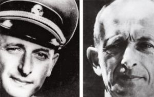 SS Eichmann , alias Ricardo Clement was captured in Argentina and hanged in Israel