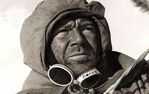 Captain Scott died during his ill-fated expedition to the South Pole in 1912