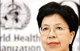 WHO Director-General Dr Margaret Chan: 440,000 new cases of multi-drug resistant-TB in 2010