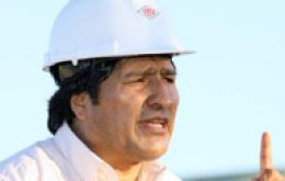 President Evo Morales can't be sure how much gas the country has