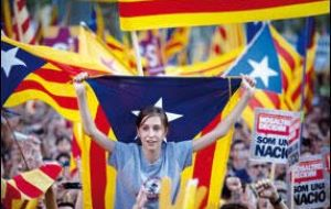 Catalonians are very proud of their cultural identity and language