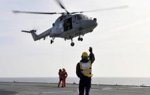 Since 1979 the Lynx was the backbone of the Antarctic patrol ship