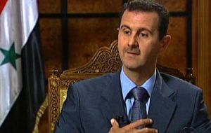 President Bashar al-Assad has promised to lift the decades old emergency law