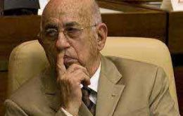 First Vice President Jose Machado Ventura (80)