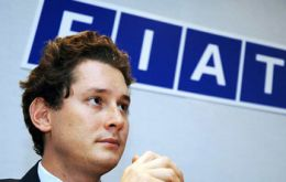 Chairman John Elkann, 'historic step for Fiat and Chrysler'