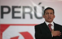 The radical turned pro-business former Army officer Ollanta Humala