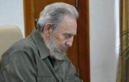 The Cuban revolution leader remains very active with his pen