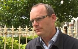 Irish Minister for Agriculture Simon Coveney: 'shocking consequences'