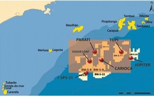 Partners in the pre-salt development include British Gas, Repsol-YPF and Galp Energia