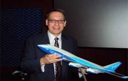Randy Tinseth, vice president of Marketing for Boeing Commercial Airplanes