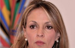 María Emma Mejía will be sharing the two year tenure of the post with Venezuela's Ali Rodriguez