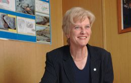 Phyll Rendell, Rockhopper put the Falklands on the world oil map