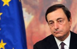 "Draghi, ""the most German of remaining candidates"" for the ECB post, according to Chancellor Merkel"