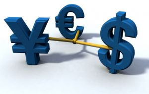 Main competitor in the short term the Euro, in the long term the Yuan