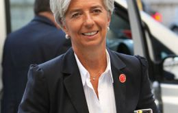 Finance minister Christine Lagarde seems to have the pole position