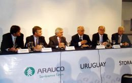 Arauco this week begun construction in Uruguay of another pulp plant