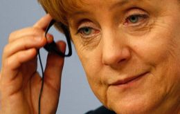 A change of policy or a political announcement from the German Chancellor