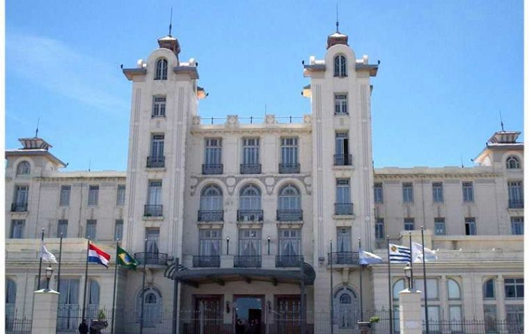 The Mercosur Parliament operates from Montevideo