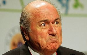 President Sepp Blatter's faces unopposed re-election Wednesday