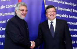 President Lugo and EC president Barroso admit difficulties<br /> <br />