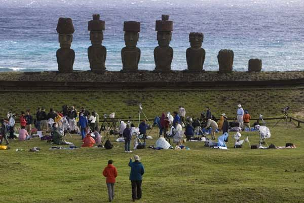 Massive Influx Of Tourists Endangers The Fragile Archaeological Site Chiles Easter Island