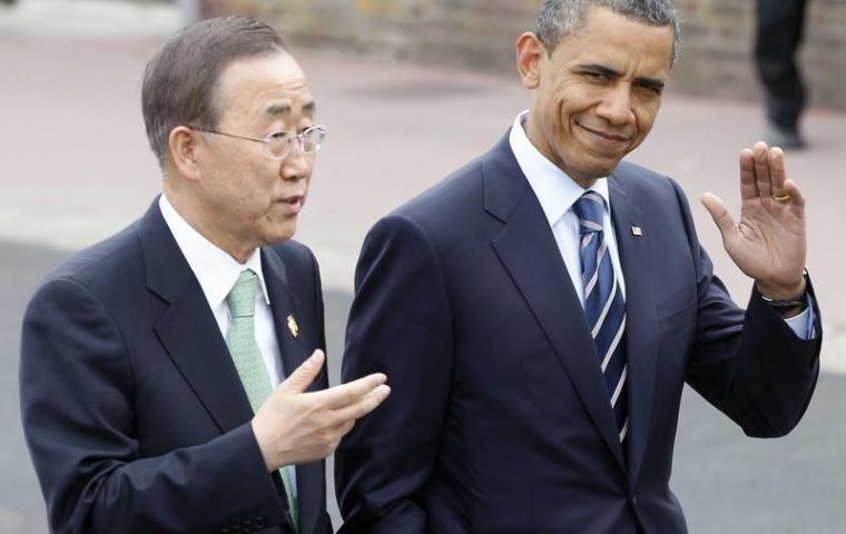 The former Korean official was praised for his efforts in Iraq, Haiti, Sudan, Ivory Coast Libya.