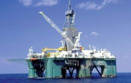 The Leiv Eiriksson rig is expected in Falkland's waters at the end of the year