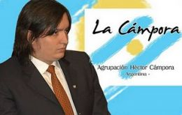 Máximo, son of the president also has a taste for politics and leads the youth movement La Campora