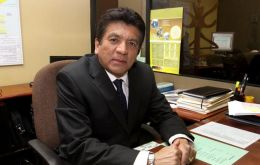 Vice-Minister for Energy Luis Gonzales Talledo: no Inambari dam