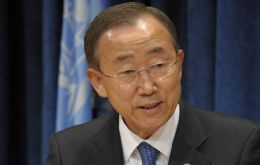 "Ban Ki-moon currently in Brazil said he was ""deeply honored"""