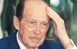 Former Paraguayan president Alfredo Stroessner, died in exile in Brazil