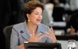 President Rousseff wants Brazil to become a world food production power