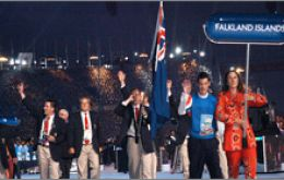 The Falklands will be competing in six disciplines