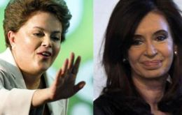 President Dilma Rousseff is convinced of Cristina's re-election