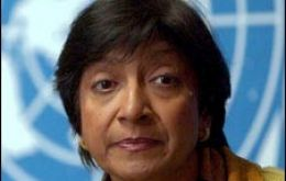 UN High Commissioner of Human Rights Navi Pillay