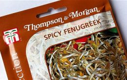 Possible link to sprouting seeds from a British company, Thompson & Morgan