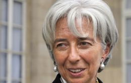Christine Lagarde has the support from Europe, China and probably the US