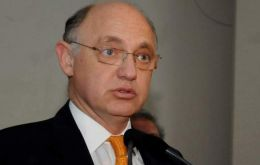 Foreign Affairs minister Hector Timerman is currently in Asuncion for the Mercosur summit