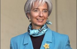 Christine Lagarde takes office next 5 July for the following five years