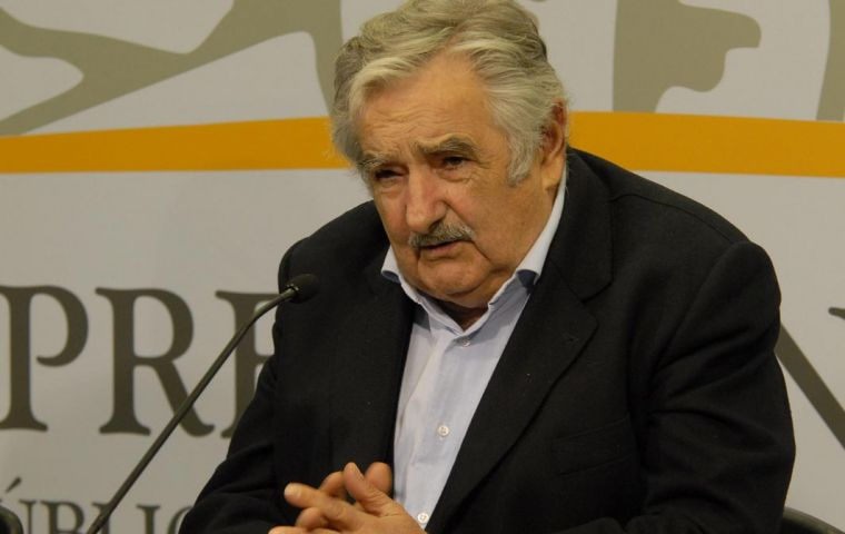 """We need more people for this dance"", said President Mujica"