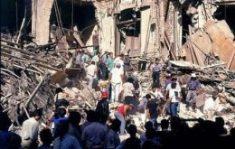 The Israeli embassy was flattened on March, 1992
