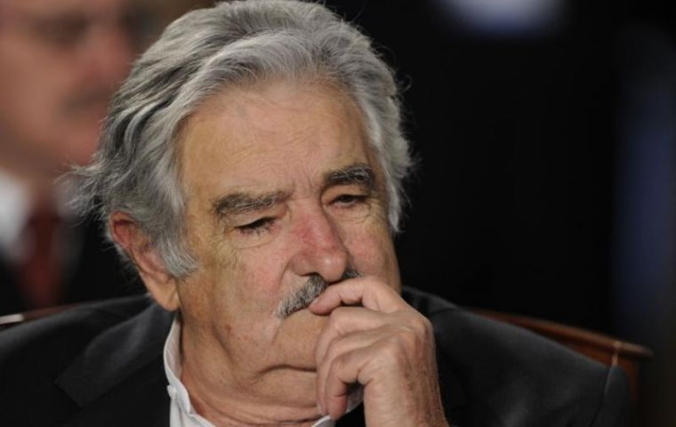 President Jose Mujica, a former guerrilla, spent 13 years in jail from 1972 to 1985