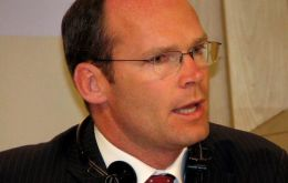 "Minister of Agriculture Simon Coveney: ""no sense in replacing Irish beef"""