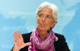 Christine Lagarde on Friday will consider disbursement of funds for Greece (Photo IMF)