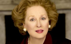 Iron in the soul ... Meryl Streep channels Margaret Thatcher in The Iron Lady.