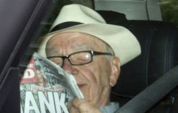 Rupert Murdoch and the last edition of the News of the World