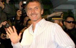 Macri privileged to be Mayor of one of the most important cities of the world
