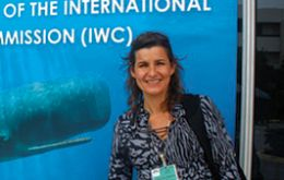 Roxana Schteinbarg, from the Argentina-based Institute for the Conservation of Whales