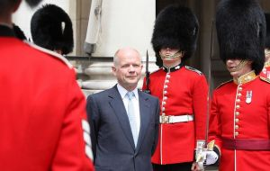 "William Hague: ""an integrated cross-government strategy to address conflict issues"""